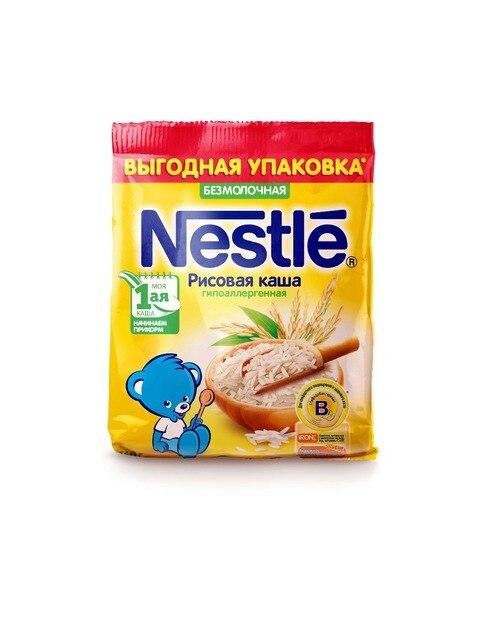 Nestle Каша безмолочная рисовая гипоаллергенная (с 4 месяцев) 160 г