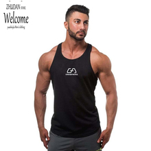 Brand New Tank Top Men Bodybuilding Stringer Tank Tops Fitness Singlet Sleeveless Shirt Workout Clothing Golds gasp