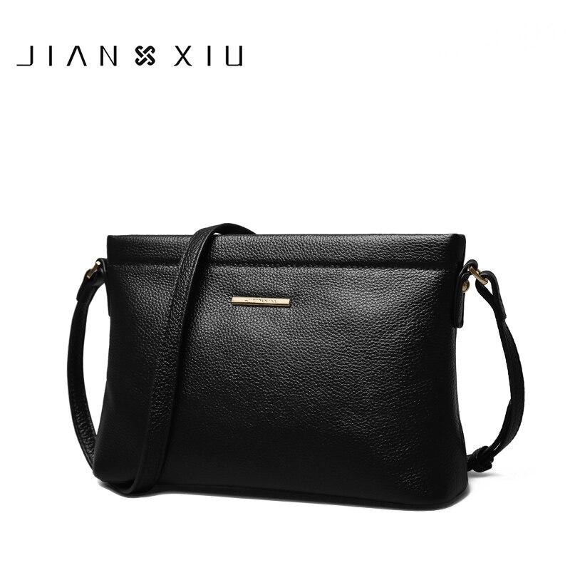 Cowhide Genuine Leather Women Messenger Bags Tassel Crossbody Bag Female Fashion Shoulder Bags for women 2017 Clutch Handbags