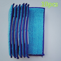 10pcs Robot Cleaner Brushes Spare Parts Damp Pad Mop For Replacement IRobot Braava Jet 240