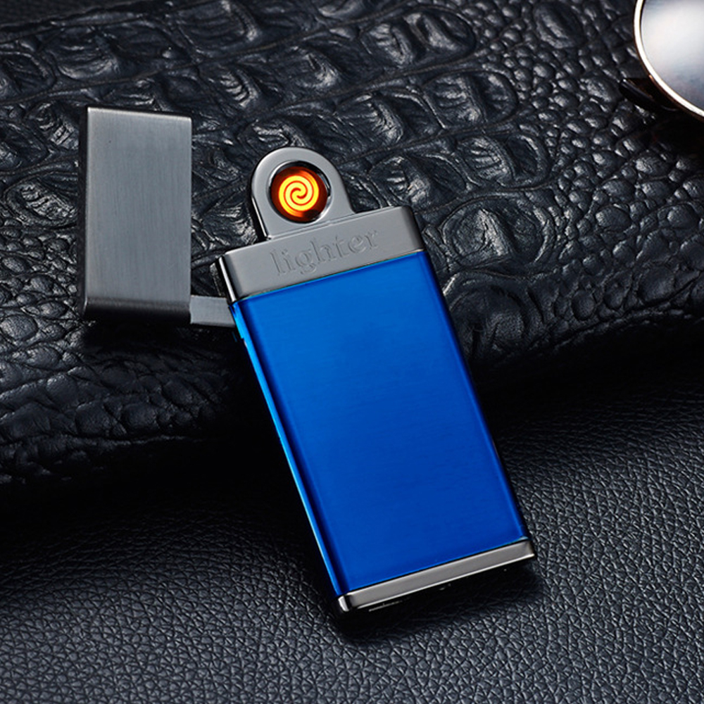 New shake a double-sided electric wire electric arc USB charging lighter double sided cigarette lighter sale