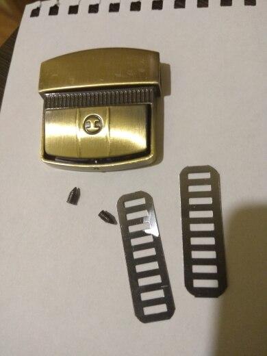 NoEnName_Null Hoogwaardige Metalen Dames Tas Accessoires Gesp Turn Lock Snap Sluitingen Sluiting voor Handtas photo review