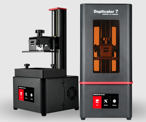 2019 NEW Wanhao Duplicator 7 PLUS 3D Printer V1 5 UV Resin DLP SLA Touch Screen