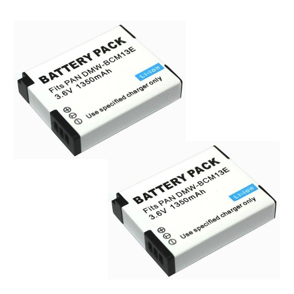 US $12 29 18% OFF|2 pcs 1250 mAh Fits PAN BCM13 LCD Single Battery for  Panasonic Lumix ZS40 / TZ60, ZS45 / TZ57, ZS50 / TZ70, ZS27 / TZ37, and  T-in