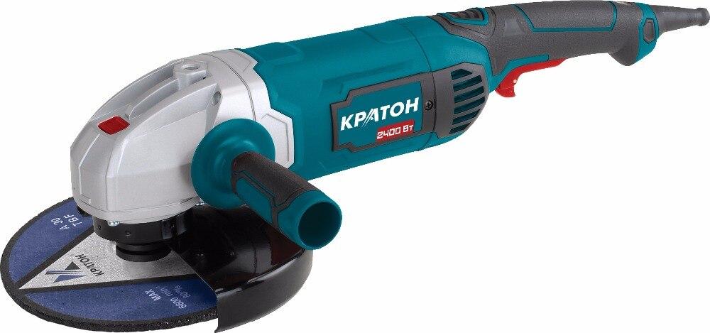 Angle grinding machine Kraton AMG-2400-230J цена