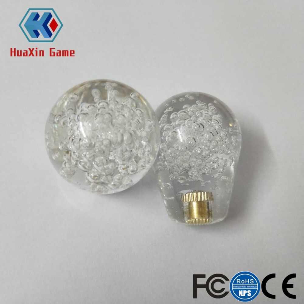 2 قطعة بيضاوي الشكل نظيفة المقود أعلى الكرة ل LED الملونة مضيئة المقود لممر لعبة DIY أطقم