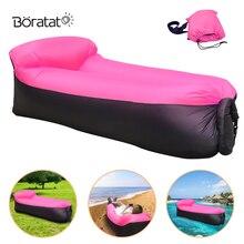 Открытый продукты быстро Infaltable надувной диван-кровать Хорошее качество Надувной Спальный Мешок Air Bag Ленивый Сумка Портативный пляжный шезлонг