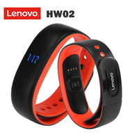Lenovo HW02 Smart Watch Smart band Wristband Fitness Tracker Integrated Design with 0.49 inch OLED Screen Heart Rate Monitor