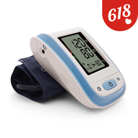 Yongrow Arm Blood Pressure Monitor Home Health Care Monitor Heart Beat Test Meter Brazo Heart Beat Machine