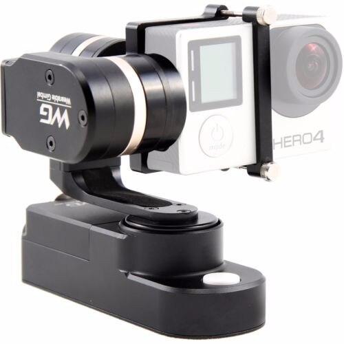 Feiyu Tecnologia FY-WGS 3 Preto-Eixo Cardan Estabilizador Wearable para a Sessão de GoPro Hero 4 Câmeras DSLR