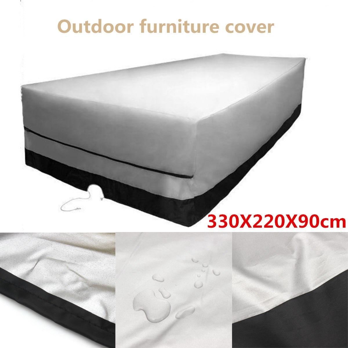 Waterproof Outdoor Garden Furniture Cover 330x220x90cm