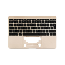 """Genuine Top case for MacBook 12"""" A1534 French with Keyboard Top Case 2015 2016 2017 Gold/Gray/Silver/Rose"""