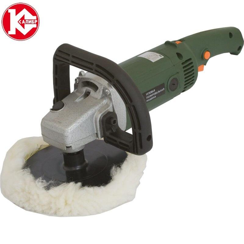 Kalibr UPM-180E hand use electric Corner Angle Grinder machine polishing kit kalibr mpsh 300r tools square rail electric polishing machine square pad surface grinder