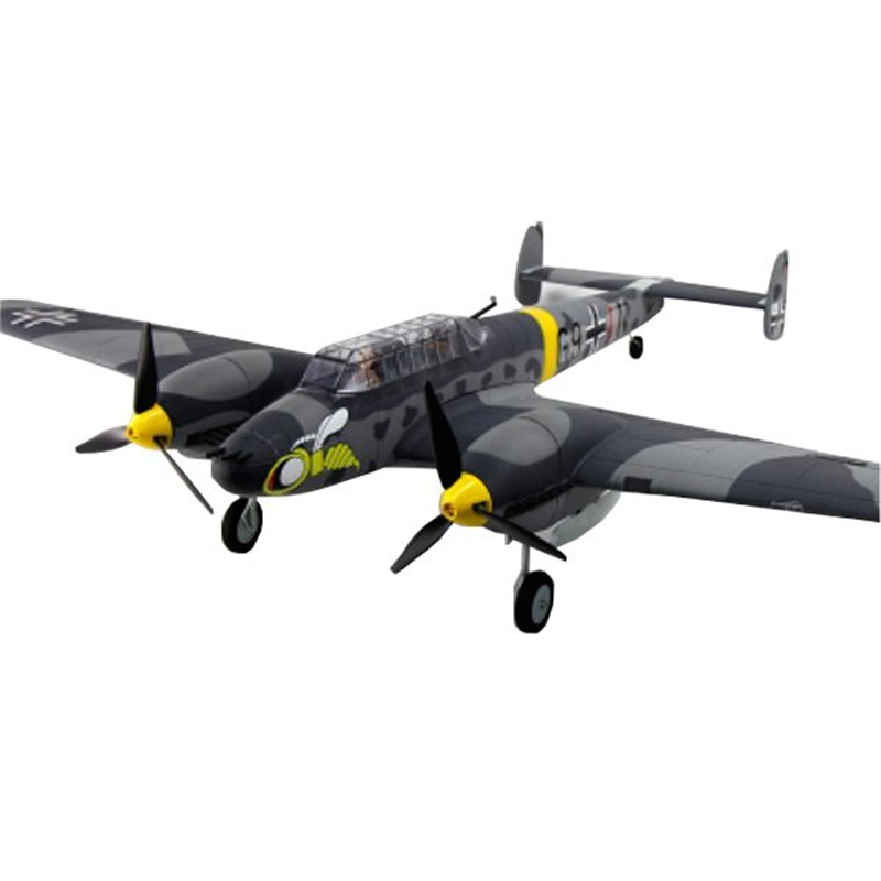 Dynam Messerschmitt BF-110 V2 1500mm Wingspan EPO Fighter Warbird RC Airplane PNP DY8963 x uav mini talon epo 1300mm wingspan v tail fpv rc model radio remote control airplane aircraft kit