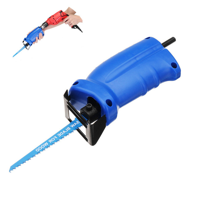 Portable Reciprocating Saw Adapter Set Changed Electric Drill Into Reciprocating Saw 2