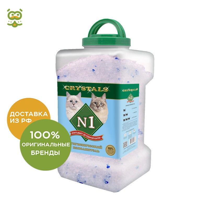 Cat litter №1 Crystals silica gel, 8.3 l.
