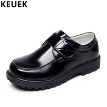Spring Autumn Fashion Children Dance shoes Flats Genuine leather Kids Baby Boys Girls Hook & Loop Leather 041