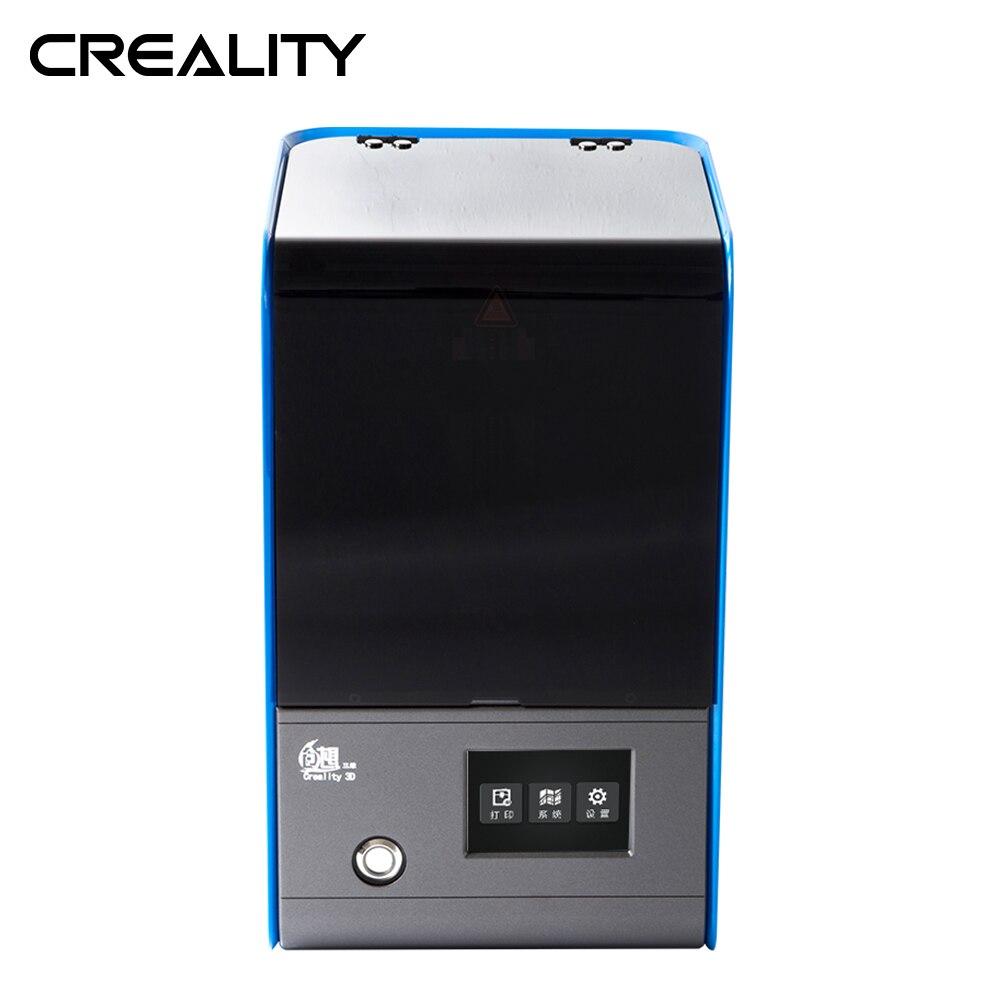 Créalité 3D UV Résine DLP LD-001 3D Créateur Trancheuse 3.5 pouces Full Couleur Tactile De Bureau Photon Prototype Dentaire Bijoux Design