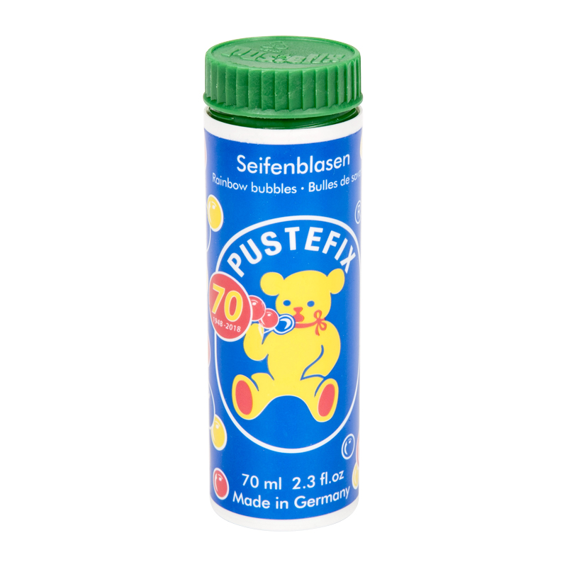 PUSTEFIX Soap Bubbles Toys 70ml For Children Toy Bubble Wand Blowers Liquid Brand Germany (12 Units Per Order)