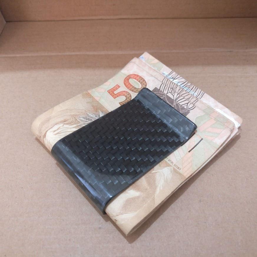 Monocarbon Minimalist Genuine Carbon Fiber Money Clips Wallets Aramid Fiber Clamp For Money photo review