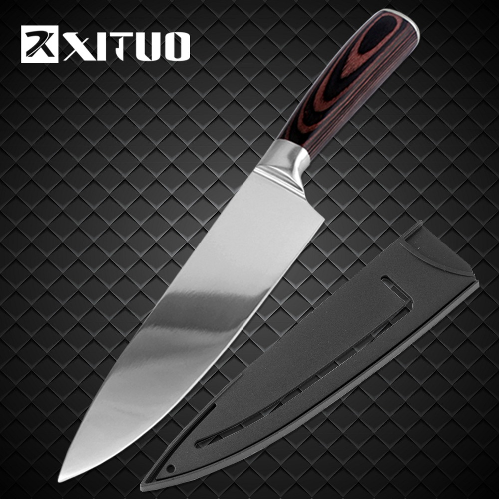 XITUO Kitchen Knife Chef-Knives Cleaver Vegetable Japanese Stainless-Steel Utility High-Carbon