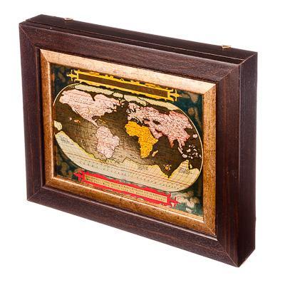 La FEMME de MÉNAGE est une boîte de coffre de stockage boîte à clés sacs bijoux en métal livraison gratuite remise de haute qualité maison 510-033