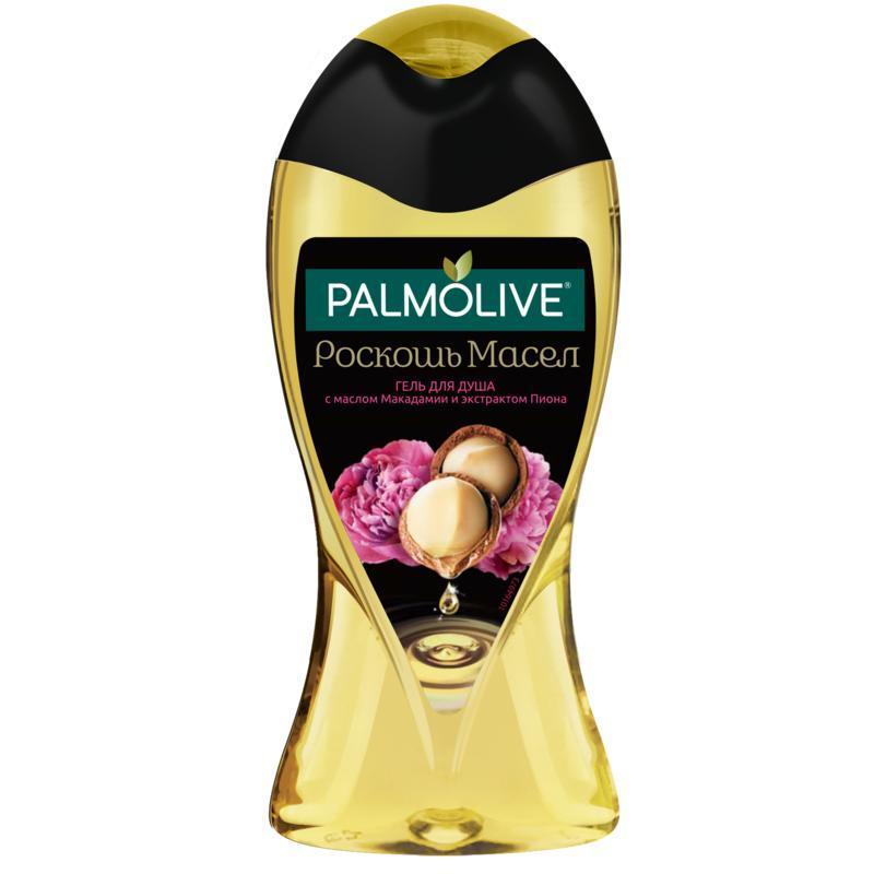 PALMOLIVE Роскошь масел, с маслом Макадамии и экстрактом Пиона гель для душа, 250 мл