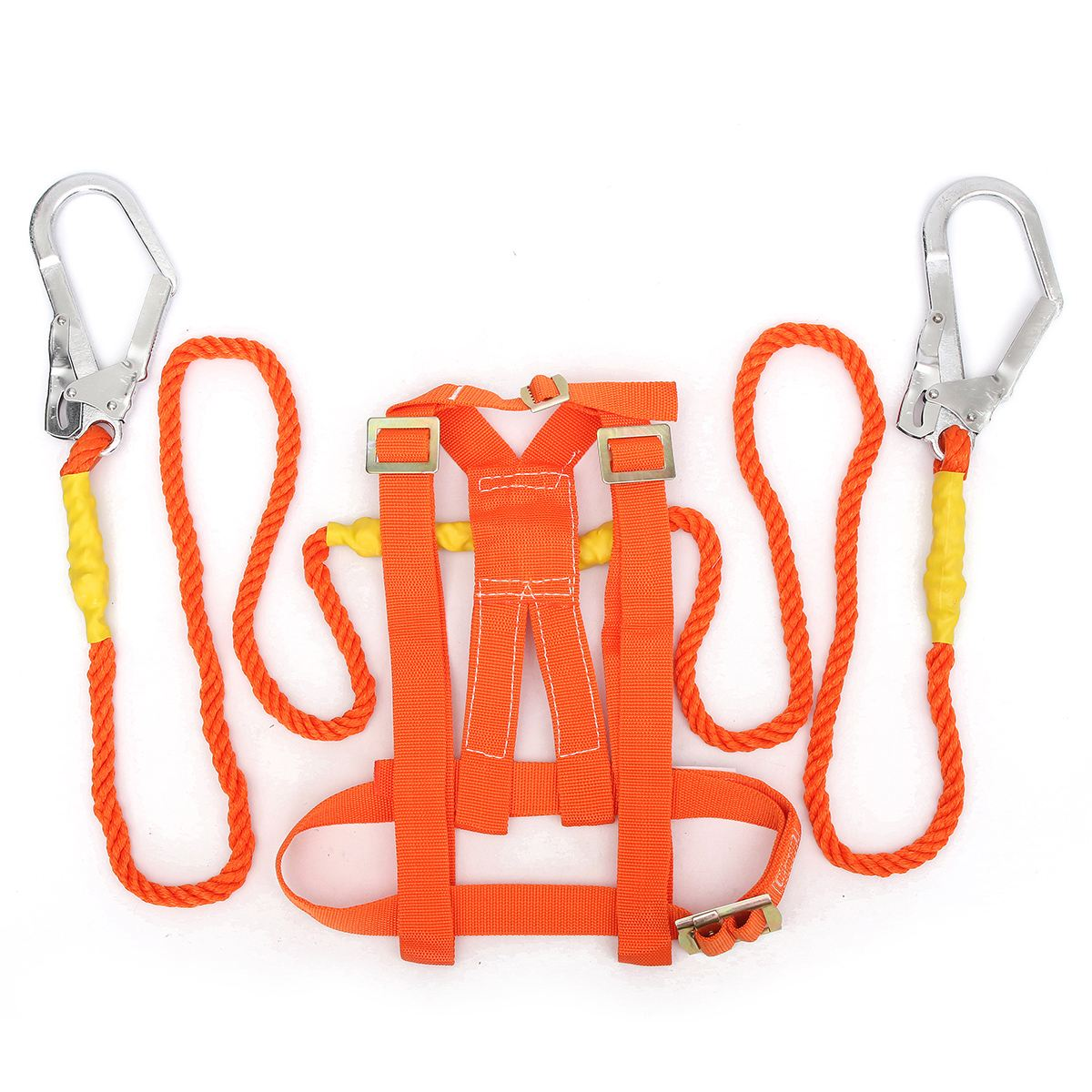 NEW Outdoor Climbing Climb Mountain Rope Safety Waist Belt Protection Equipment Workplace Safety Harness 25kn professional carabiner d shape safety master lock outdoor rock climbing buckle equipment