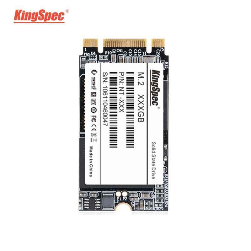 KingSpec m.2 SSD 2242 de 120GB 240gb 500gb HDD 2242mm NGFF SSD M2 SATA de 1tb disco duro de 2tb para portátil saltador 3 pro prestigio 133