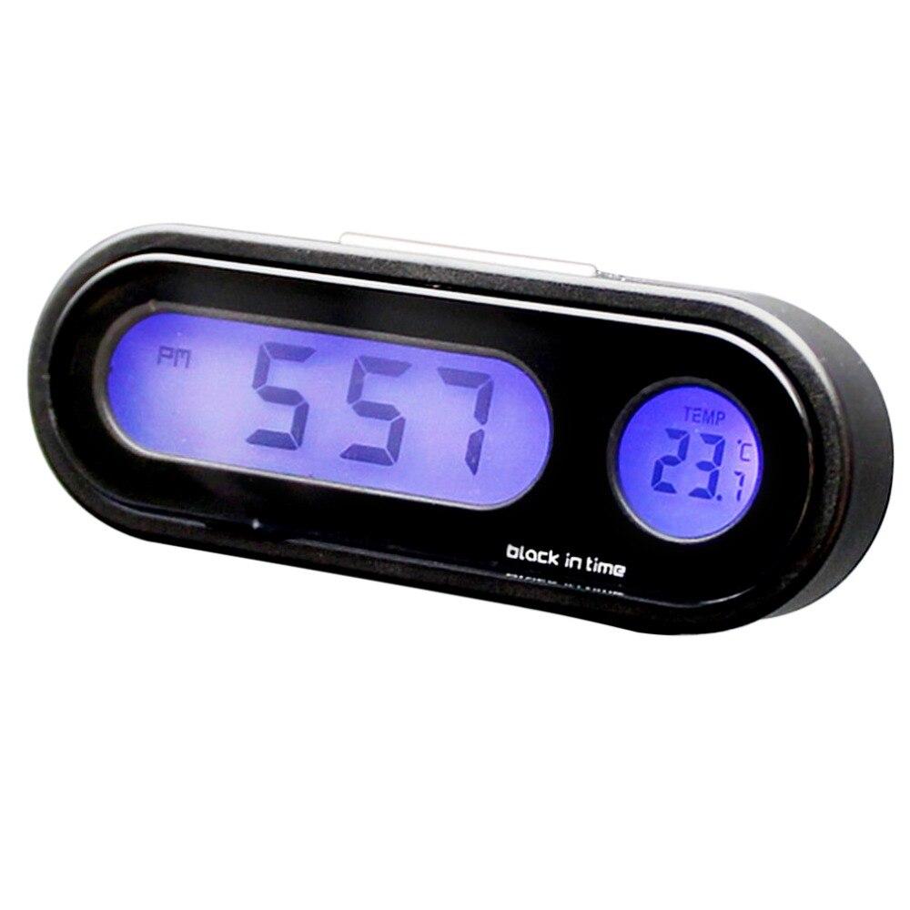 Houkiper Universal Digital Self-adhesive Thermometer Mini Digital Thermometer for Bathroom Motor Car Kitchen