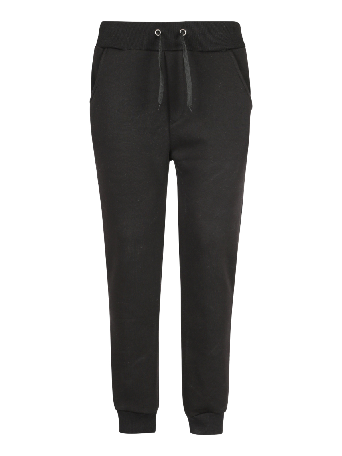 Heavy Sports Pants-Black
