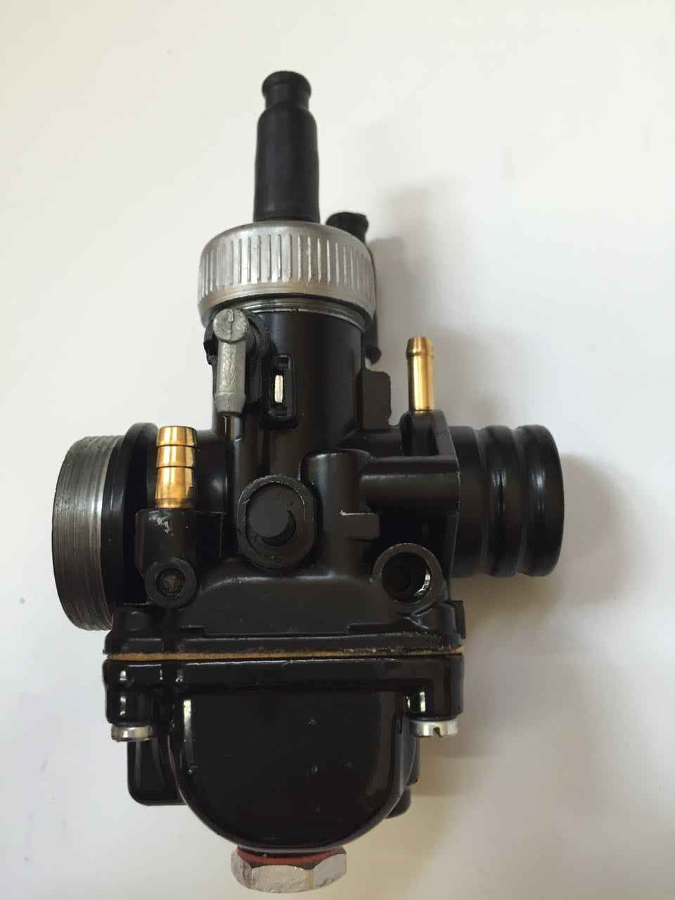 17mm 19mm PHBG Black Carb Racing Carburator With Rubber Dellorto DIO JOG BWS100 Puch