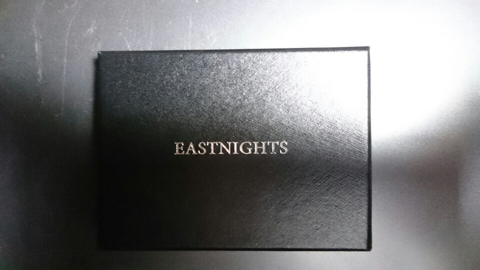 EASTNIGHTS 2019 Stainless Steel Card Holder Credit Card Wallet Men Business Rfid Metal Travel Wallet Men Credit ID Card Holder photo review