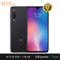 Smartphone Xiaomi Mi 9 SE Screen de AMOLED 5,97 (6 hard GB RAM, 128 hard GB ROM, free, new, Triple flagship camera 48 MP) [Global Version]