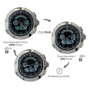 Image 3 - PM1208 bracelet en cuir poignet nucléaire détecter Gamma Master II, montre à rayonnement calibré par Polimaster Ltd. (biélorussie)