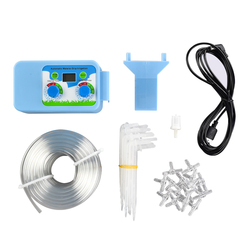Hot Selling Pump LCD Display Automatic Drip Irrigation Controller Set Garden Water Timer Watering Kit Garden Watering System