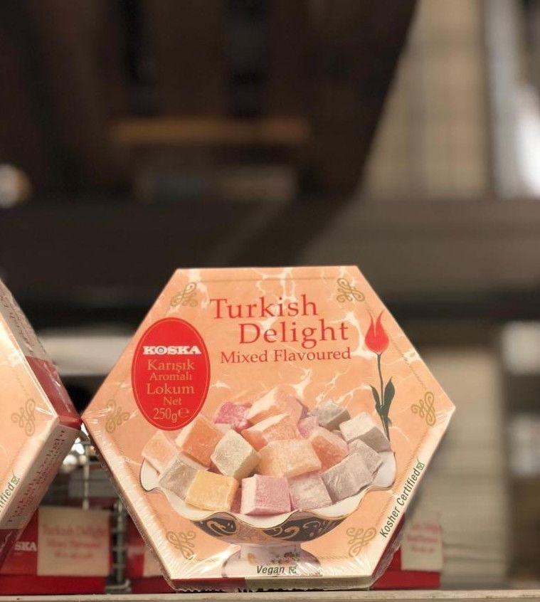 Koska Turkish Delight Mixed Flavoured 250 Gr , Gluten Free