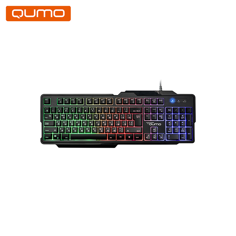 Gaming keyboard Qumo Cobra K30 gaming headset qumo jollyroger ghs0010