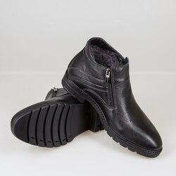 Bull Leder Männer Stiefel Frühling Herbst Und Winter Mann Schuhe Ankle Boot männer Schnee Schuh Arbeit Plus Größe 39 -44 000-009