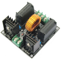 1 Set DIY ZVS Coil Power Supply Boost Voltage Generator Drive Board Induction Heating Module Kit