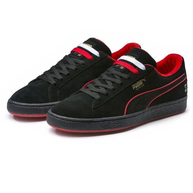 38a4d729ff6e PUMA X FUBU 05 Suede Classic Mens Black Women Sports Sneakers Men 50th  Anniversary Edition 366320
