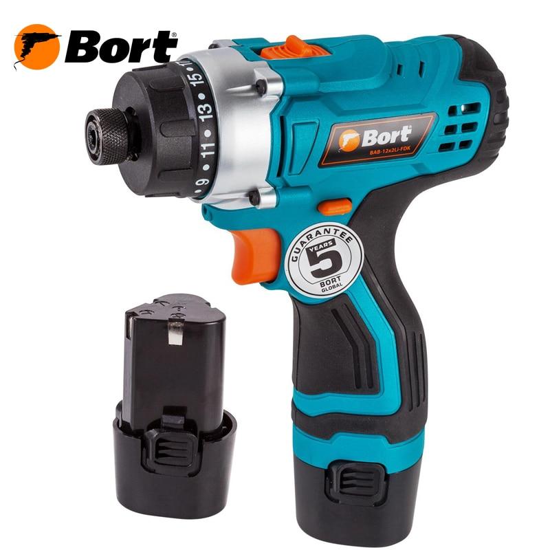Cordless Drill Bort BAB-12x2Li-FDK цена