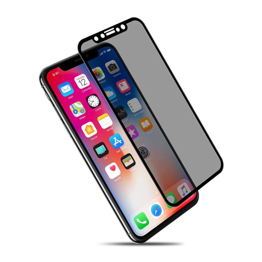 NILLKIN 9H 3D anti glare Screen Protector For iPhone X Xr 8 8 Plus 7 7 Plus Safety Protective Tempered Glass for iPhone XS Glass|Phone Screen Protectors| |  - title=