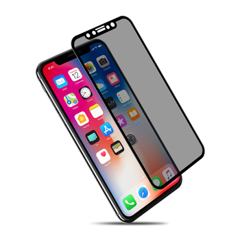 NILLKIN 9H 3D anti glare Screen Protector For iPhone X Xr 8 8 Plus 7 7 Plus Safety Protective Tempered Glass for iPhone XS Glass