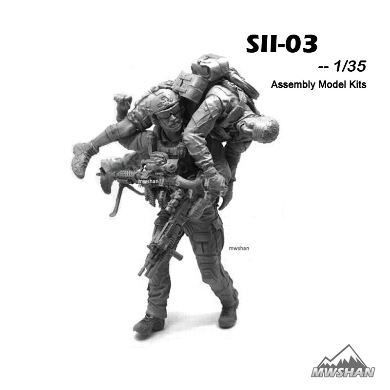 1//35 Moderne Amerikanische Armee Spezialeinheiten Soldat Modell Geschenke Neu