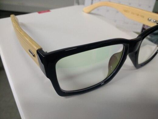 002d8a05690 17 reviews for HDCRAFTER Rectangle Wooden Eyeglasses Frames Men Bamboo Glasses  Frame Glasses Spectacles Reading Optical Glasses Frame
