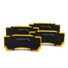 KOKO RACING Полуметалл Тормозные колодки для bmw e90 для производительности 18Z с WT9660 6 горшки автомобиля тормозных суппортов