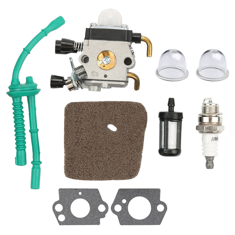 Fuel Line Carburetor Kit Fit FS38 FS45 FS55 String Trimmer Weed Eater