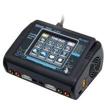 HTRC T240 DUO AC 150 Вт DC 240 Вт 10A Сенсорный экран двухканальный Батарея баланс Зарядное устройство Dis Зарядное устройство для игрушечных камер модельного ряда RC
