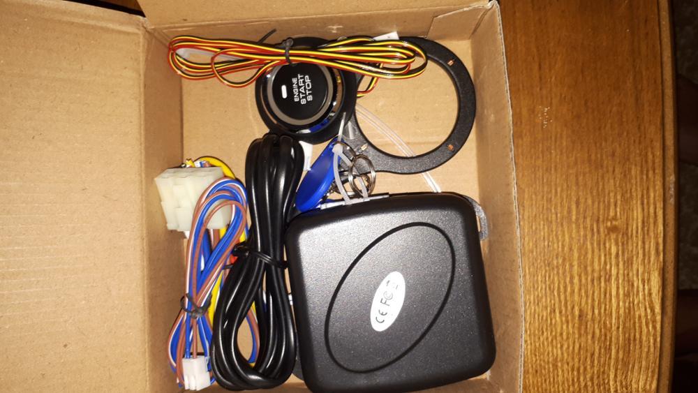 Авто сигнализация двигателя Starline кнопка старт стоп RFID замок зажигания Автозапуск Системы Starter Anti-theft системы